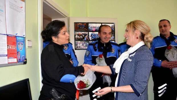 Gönül Elçileri polis ziyaretinde