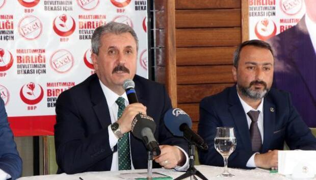 Destici: Adalet Bakanlığının başvurusu sürecin aydınlatılması için ciddi bir adım