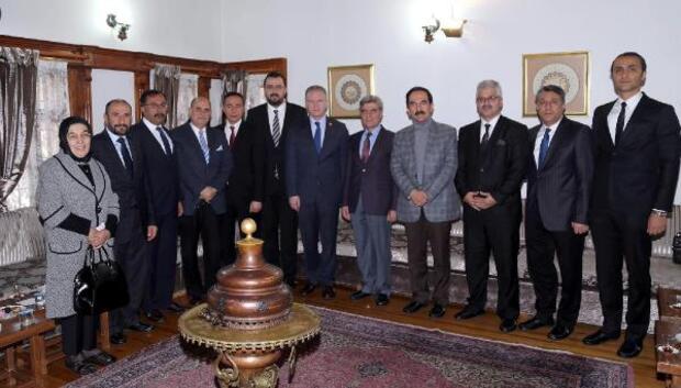 Vali Gülden Kent Konseyine ziyaret