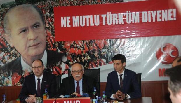 Bakan Avcı, Eskişehirde MHPyi ziyaret etti