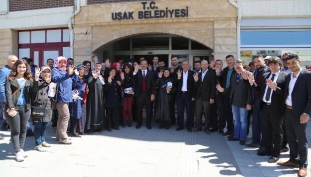 Başkan Cahan, 16 Nisanda Güçlü Türkiyenin Kapılarını Açacağız