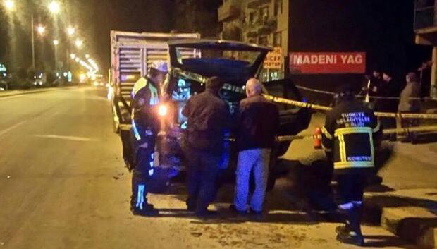 TIRın altına giren cipin sürücüsü öldü