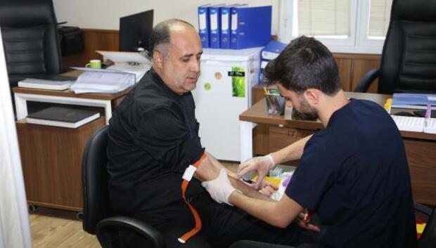 MESKİ çalışanları sağlık taraması