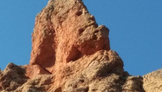 İnsan silueti görünümlü kayalar ilgi odağı
