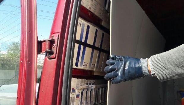 Mersinde 40 bin 600 paket kaçak sigara ele geçirildi