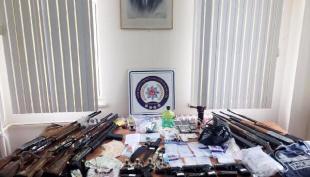 Uyuşturucu operasyonlarında 21 gözaltı
