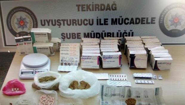 Tekirdağda uyuşturucu operasyonu