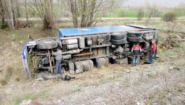 Sandıklıda kaza: 1 yaralı
