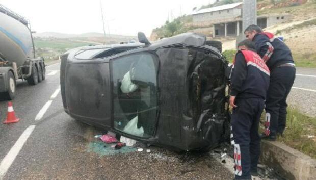 Besnide kaza: 2 yaralı
