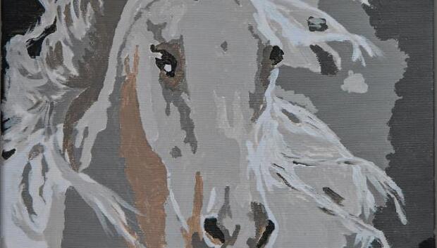 Demirtaş, cezaevinde yaptığı tabloyu paylaştı