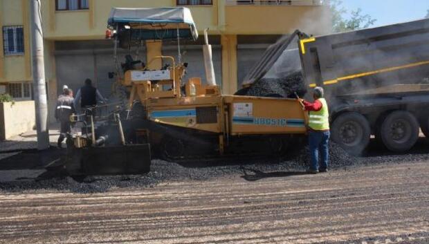 Osmaniyede asfalt çalışması