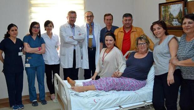 Ameliyat için ülkesi Almanyayı değil Turgutluyu tercih etti