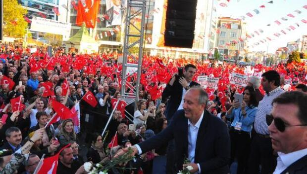 CHPli İnce: Erdoğana beygirden düştüğü için gazilik veririz