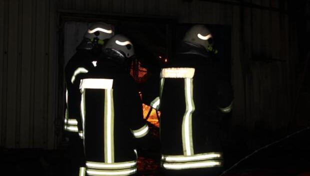 Afyonkarahisarda yağ fabrikasında patlama ve yangın (2)