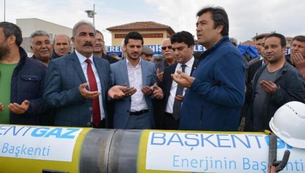 Şereflikoçhisarda 41 milyon yatırım bedelli doğalgaz çalışması