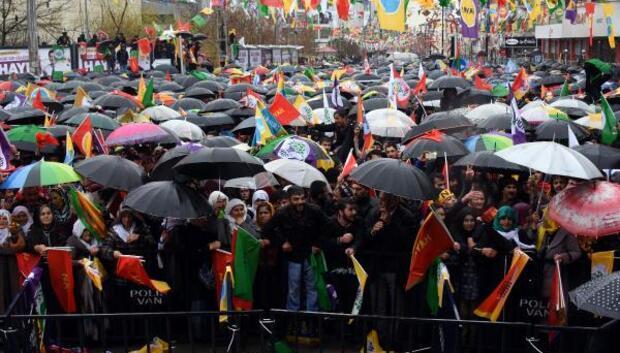 HDPden Vanda hayır mitingi
