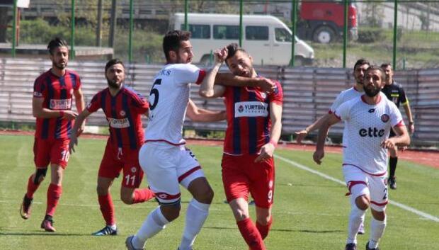 Zonguldak Kömürspor-Fatih Karagümrükspor: 1-1