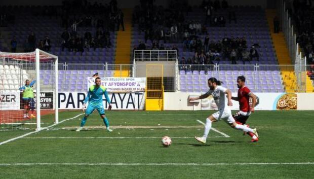 Afjet Afyonspor-Ankara Adliyespor: 4-1 (Afjet Afyonspor 2nci Ligde)