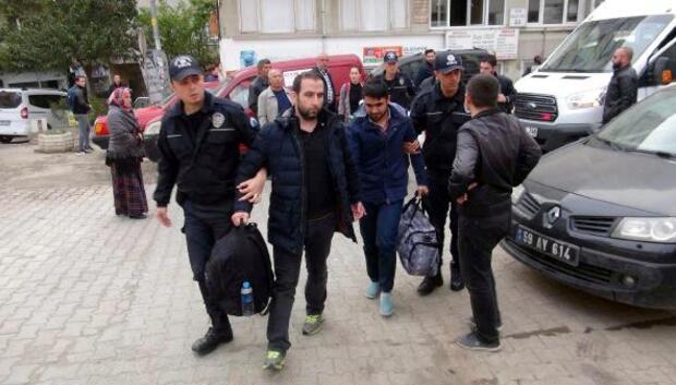 Tekirdağda FETÖden 62 asker tutuklandı