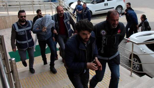 Zonguldakta uyuşturucu operasyonu: 5 gözaltı
