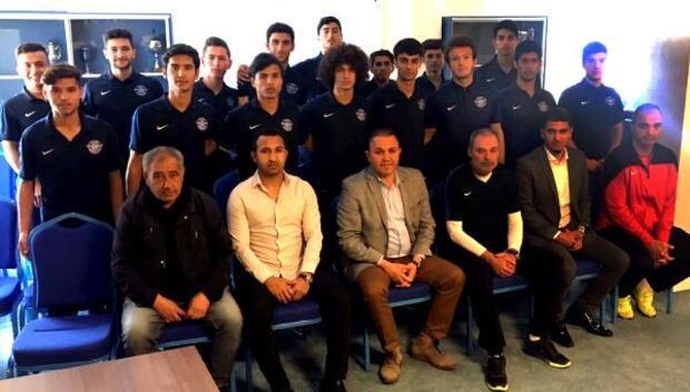 Şampiyonlardan Adana Demirspor Başkanı Sözlüye ziyaret