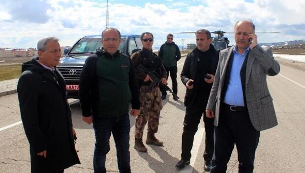 Vali Azizoğlundan helikopterli seçim teftişi