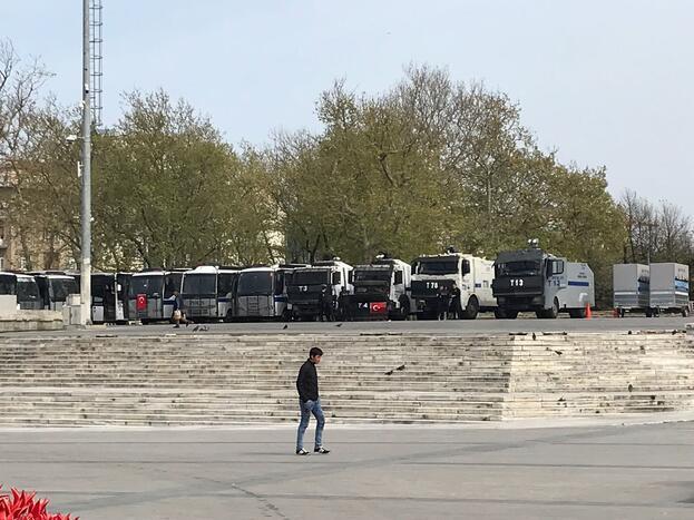 CHPliler Taksimde... Polis izin verilmeyeceğini söyledi