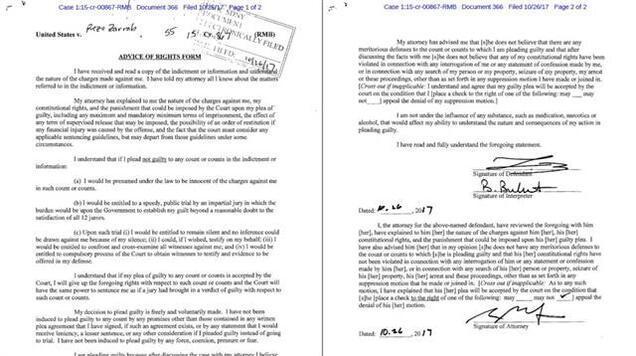 İmzaladığı belge yayınlandı... Zarrab cezaevine kadın sokmaya çalıştı