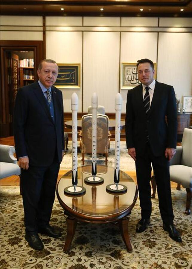 Cumhurbaşkanı Erdoğan ünlü işadamını kabul etti