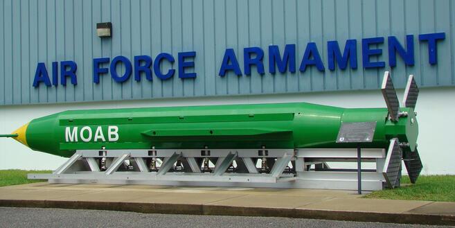ABD en büyük bombayla vurdu