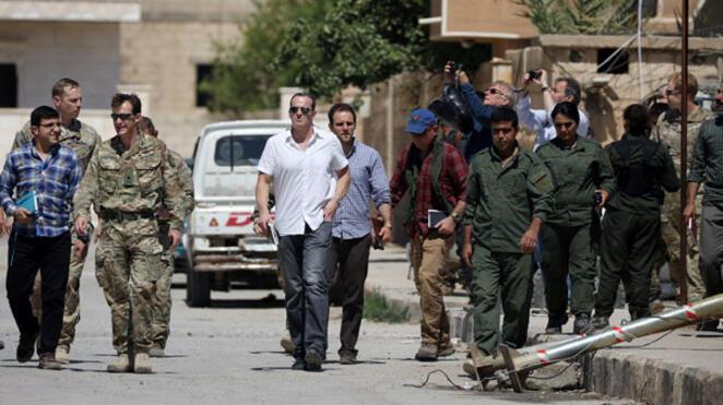 YPGliler ile görüşen McGurk Ankaraya geldi
