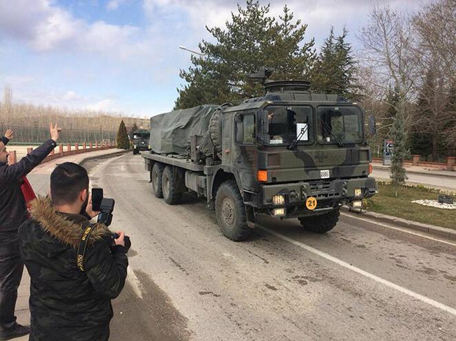 Askeri araçlar Karadenizde... Nedeni belli oldu