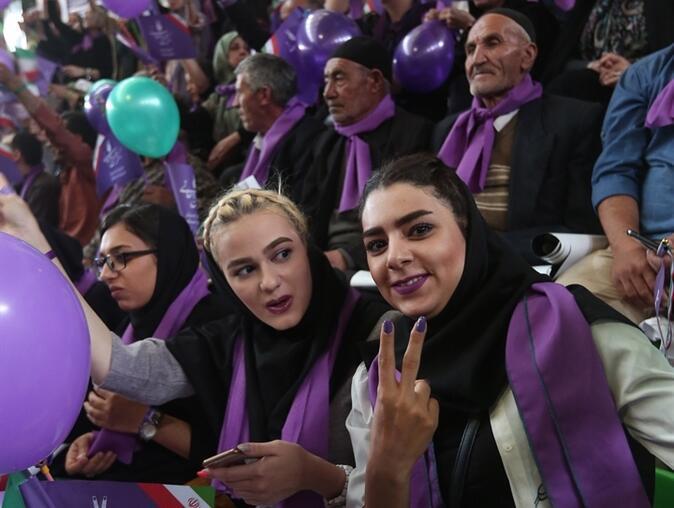 İranda tansiyon yükseliyor... Yasak dinlemediler