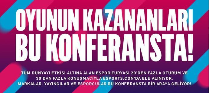 Türkiye'nin ilk ve en büyük espor zirvesiiçin geri sayım başladı