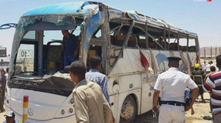 Son dakika.. Mısırda Hristiyanlara saldırı