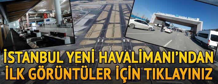 Son dakika... Cumhurbaşkanı Erdoğanın uçağı yeni havalimanına indi
