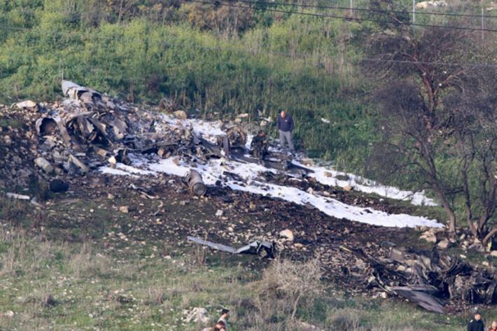 Suriye İsrailin uçağını düşürdü... Şamda patlama sesleri ABD ordusu alarma geçti