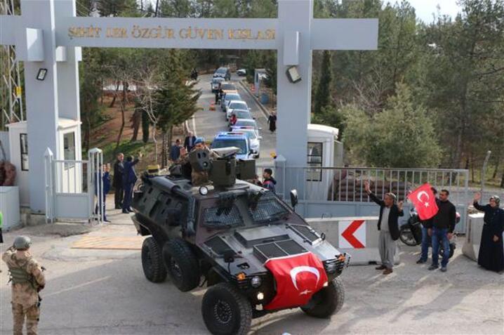 Özel birlikler yola çıktı