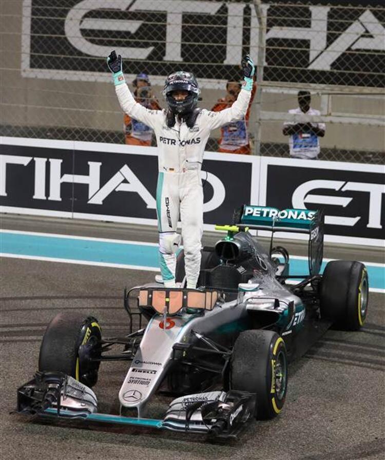 Formula 1de ilk Rosberg şampiyonluğu