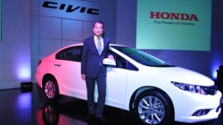 Yeni Honda Civic Türkiye Yollarına çıktı Sondakika Ekonomi Haberleri