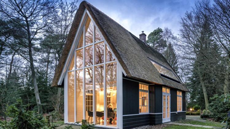 hayallerinizi s sleyecek 10 tek katl ev projesi stil haberleri. Black Bedroom Furniture Sets. Home Design Ideas