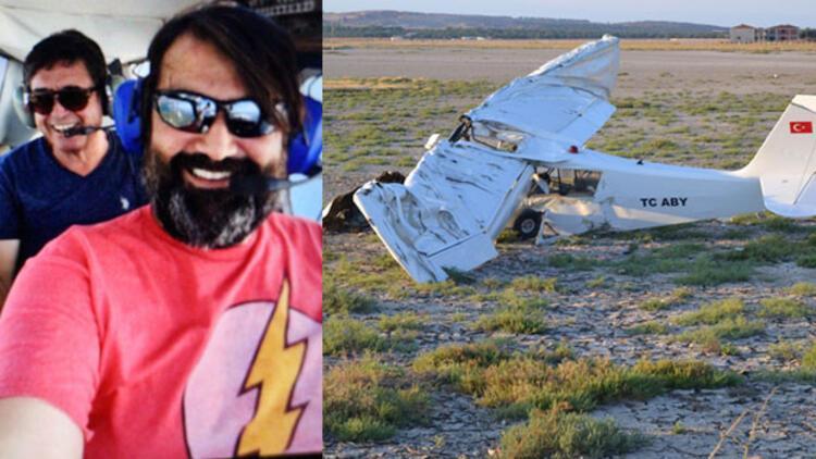 Balıkesirde uçak düştü iddiası