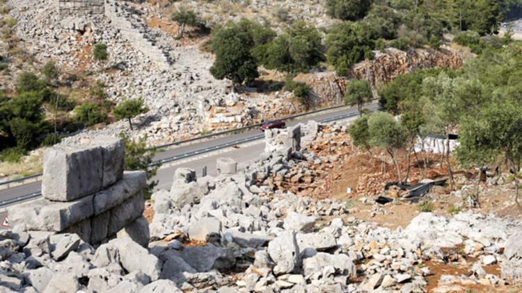 Antik Yollar : Antalyada 2300 yıllık yol bulundu kitap sanat haberleri
