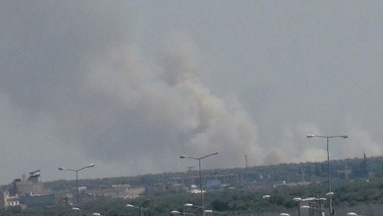 PYD denetimindeki bölgeden taciz ateşi