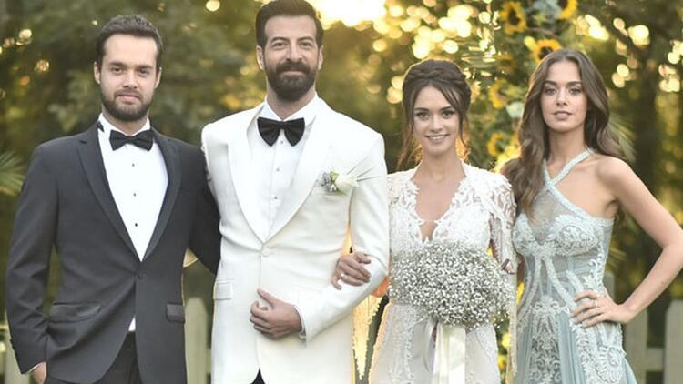 Hande Soral Ve Ismail Demirci Evlendi Düğün Görüntüleri Ortaya