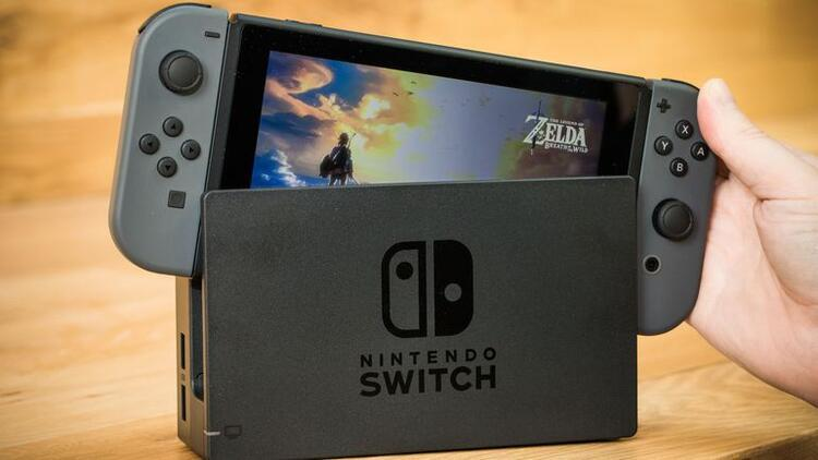 Nintendo Switch'i hack'lediler!