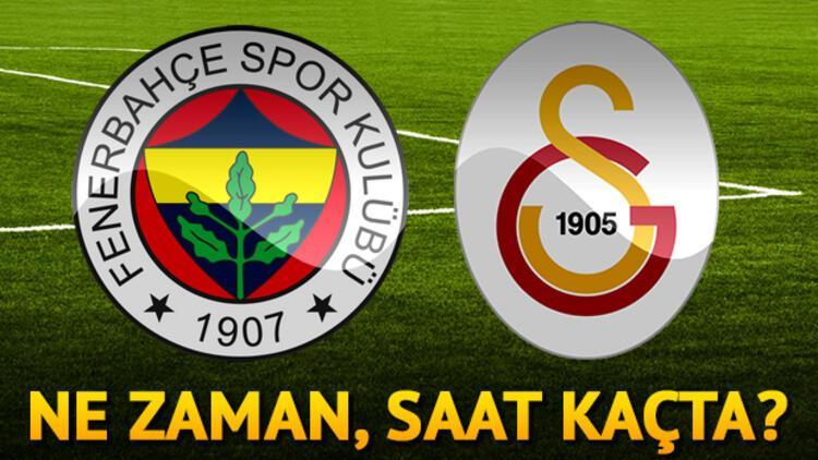 Fenerbahçe Galatasaray maçı ne zaman saat kaçta hangi kanalda?