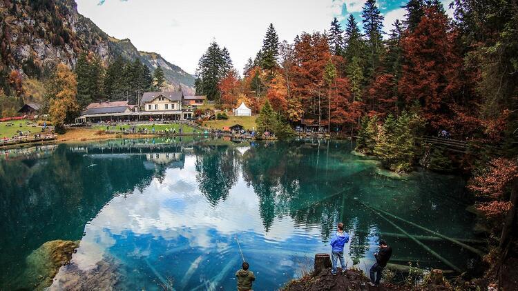 Rüya Gibi Bir Yer Blausee Gölü