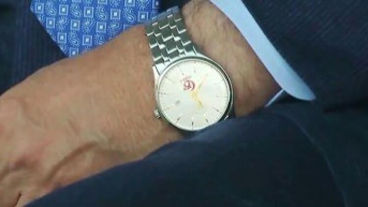 Cumhurbaşkanı Erdoğan'ın saatinde dikkat çeken detay