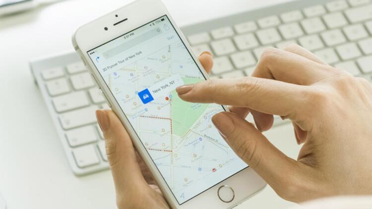 Google Haritalar'da geçmişi silme